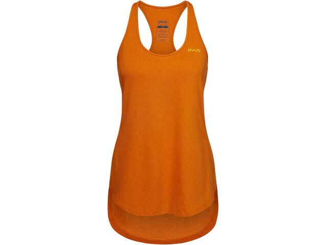 PYUA Delight S Tanktop Women fox orange melange
